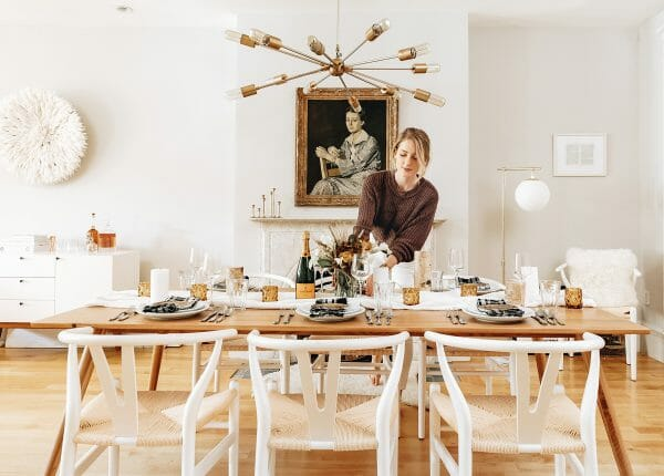 Sarah Fennel of Broma Bakery sets her Seno table for a beautiful, decadent brunch.