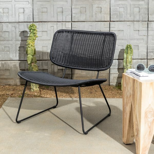 The Rumi lounge chair has a lot of things going for it: being easy-to-clean is one of them.