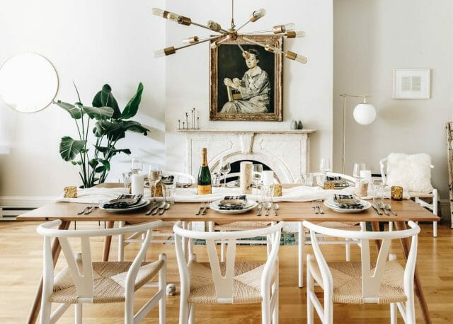 Broma Bakery's dining table is all set for an elegant and easy house party
