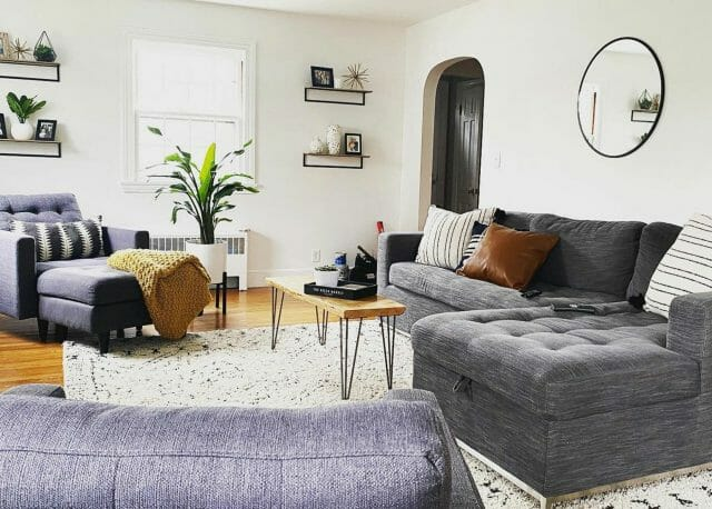A white living room features the Soma Sofa Bed