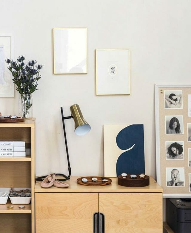 Peet Rivko's offices feature the Torch lamp from Article.